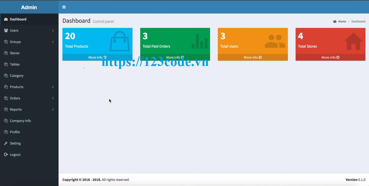 Tải source code phần mềm quản lý nhà hàng php full database