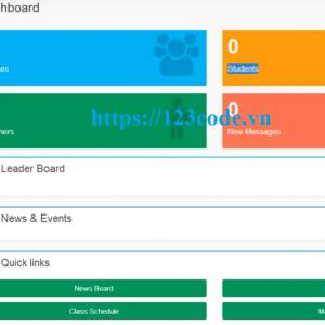 Download source code phần mềm quản lý kết quả học sinh php