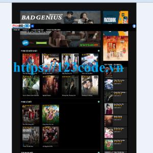 Tải source code website xem phim online tích hợp thanh toán PHP - Laravel
