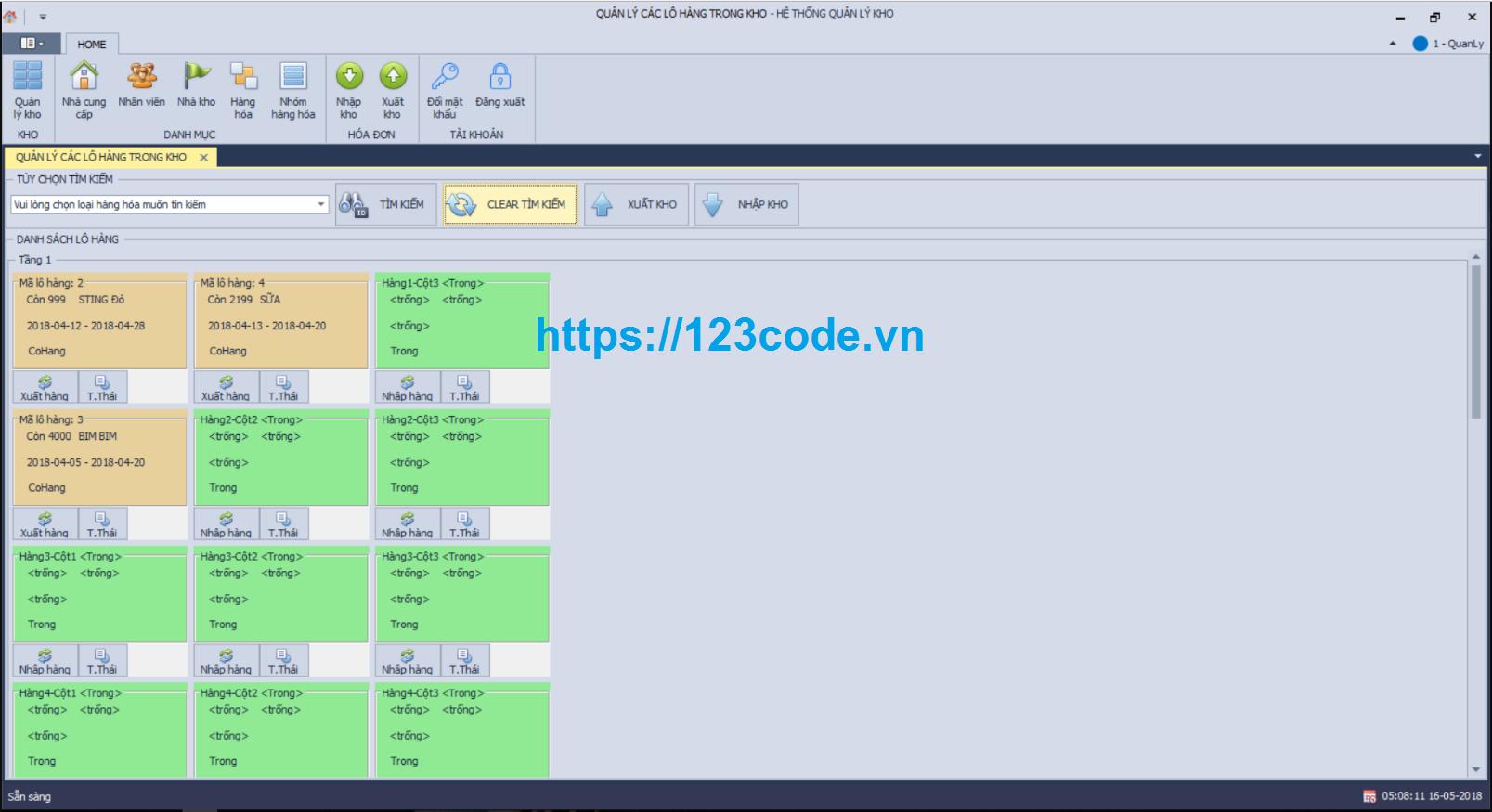 Tải source code quản lý kho hàng viết bằng C#-WPF đầy đủ chức năng