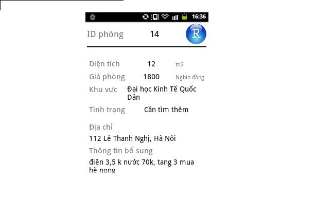 Tải source code ứng dụng tìm và quản lý phòng trọ PHP - Android