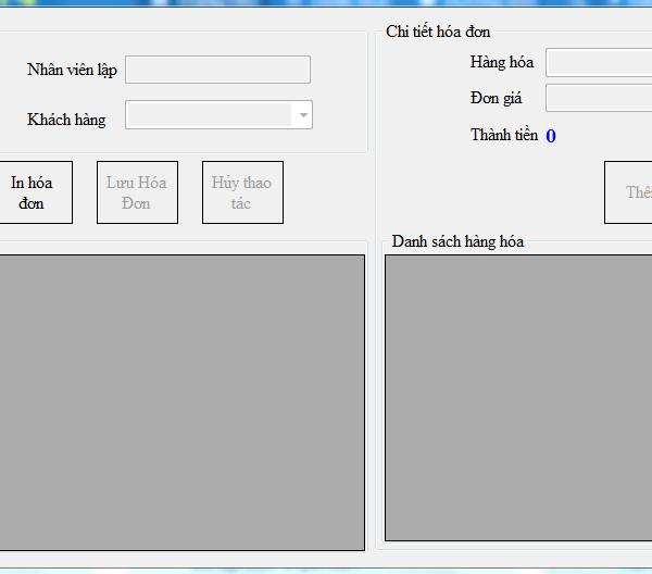 Tải code phần mềm quản lý siêu thị c# có database