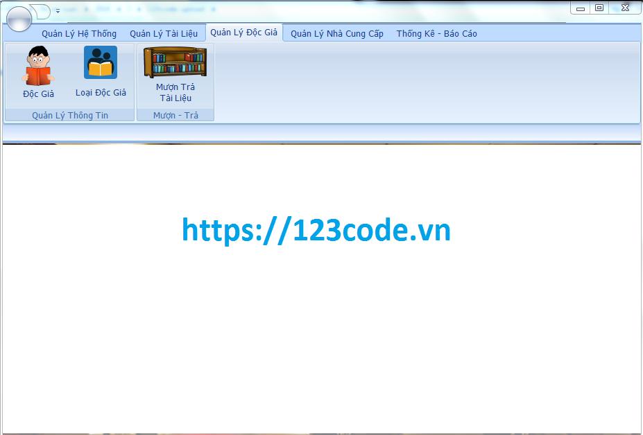 Tải source code đồ án quản lý thư viện c# có database 1
