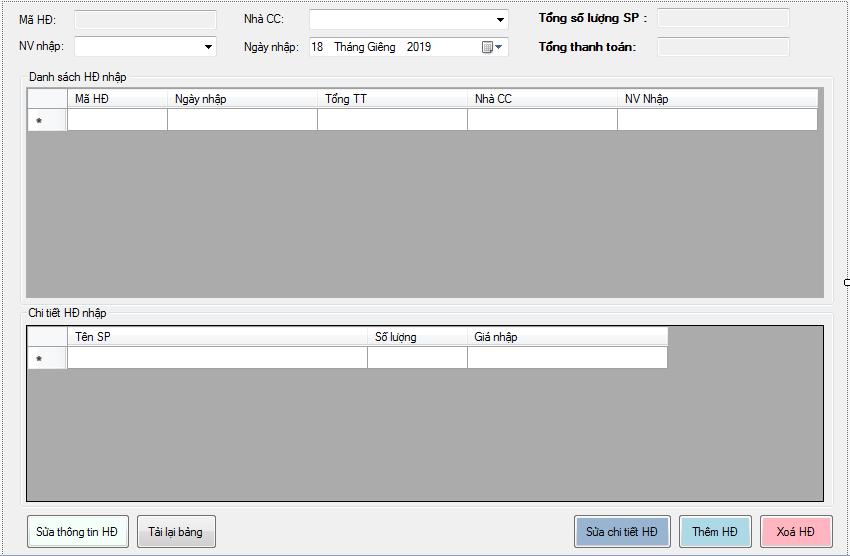 Code đồ án quản lý cửa hàng viết bằng c# full chức năng