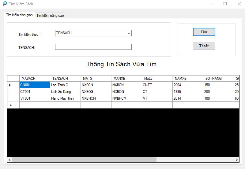 Tải code quản lý thư viện viết bằng c# có database