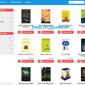 Tải code website quản lý bán sách viết băng asp.net MVC5
