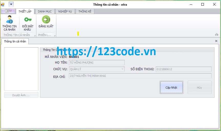Tải source code đồ án quản lý nhà sách c#