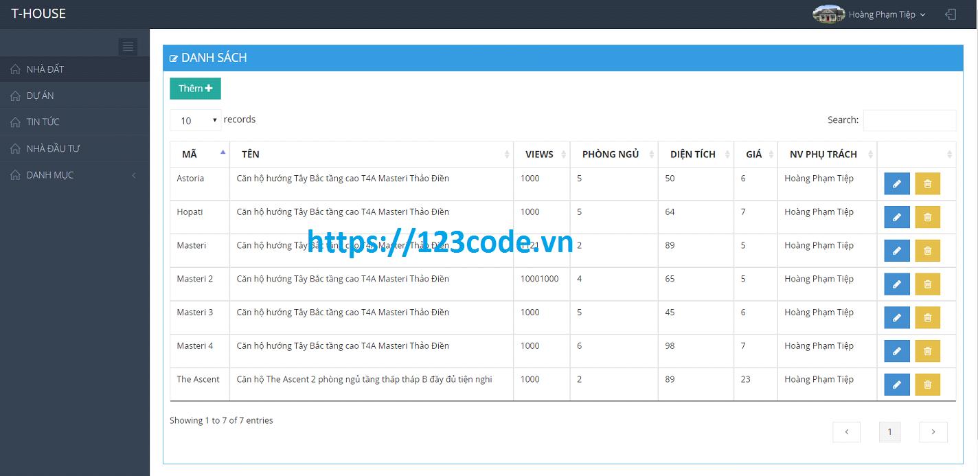 Code đồ án website tin tức nhà đất ASP.NET - MVC có báo cáo