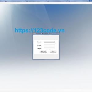 Code quản lý siêu thị viết bằng c# có database