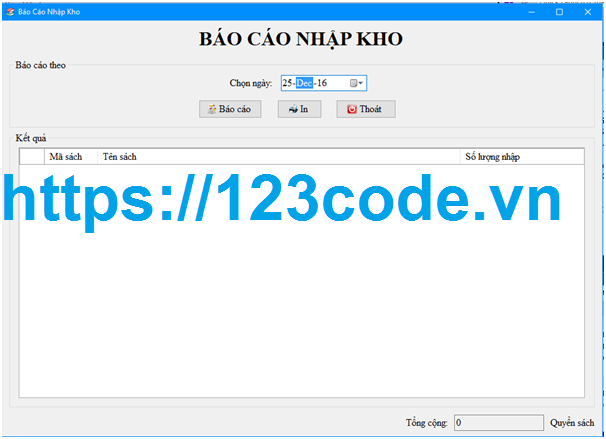 Tải code phần mềm quản lý bán sách c# Full báo cáo cực hay
