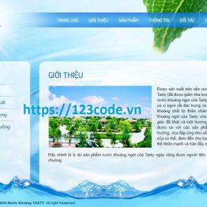 Tải code website giới thiệu sản phẩm asp.net - mvc