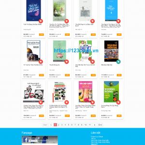 Tải source code website bán hàng php laravel giao diện cực chất