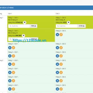 Download source code quản lý kho hàng ASP.NET - MVC có database