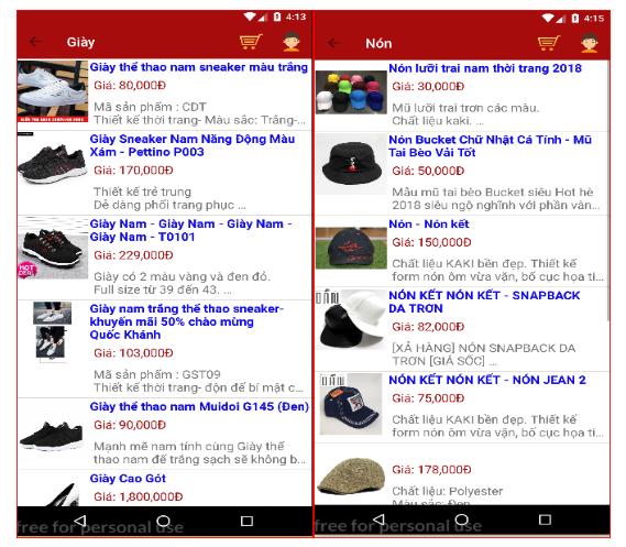 Source code app bán hàng online java Android có hướng dẫn