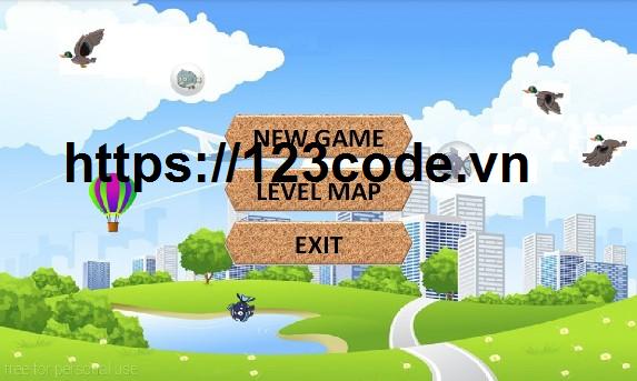 Source code game bắn vịt java ANDROID có báo cáo kèm theo