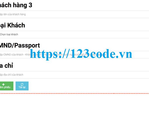Tải source code quản lý khách san php thuần có báo cáo
