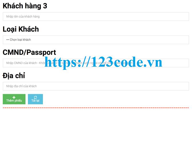 Tải source code quản lý khách sạn php thuần có báo cáo