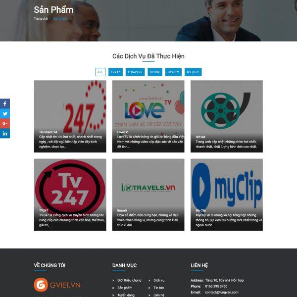 Tải source code website giới thiệu dịch vụ php full code