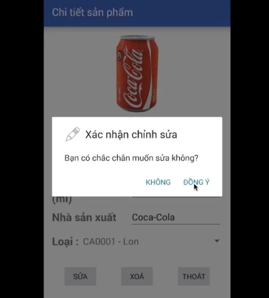 Code App quản lý hàng hóa viết bằng java