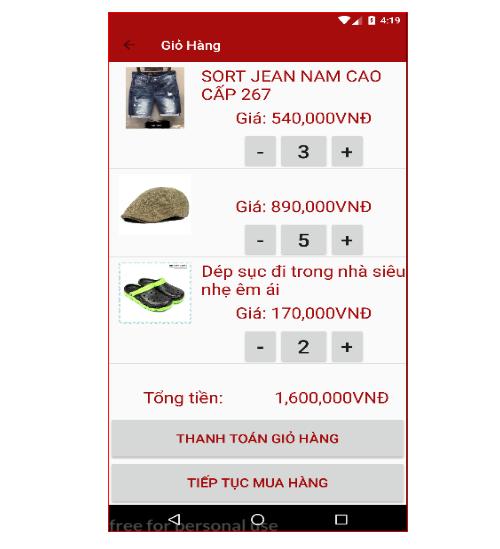 Code app website bán hàng quần áo JavaScrip full chức năng