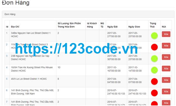 Tải code website bán hàng asp.net full báo cáo và database