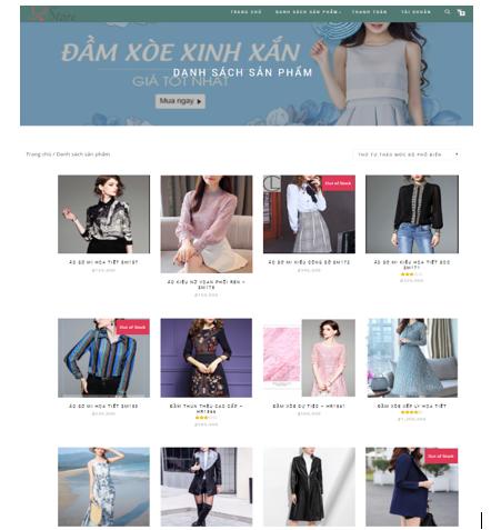 Website bán hàng + hệ thống gợi ý bằng WordPress + Báo cáo