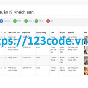 Báo cáo kèm source code website quản lý khách sạn và đặt phòng trực tuyến ASP.NET