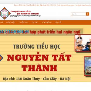 Full source code website giới thiệu trường học wordpressc có hướng dẫn
