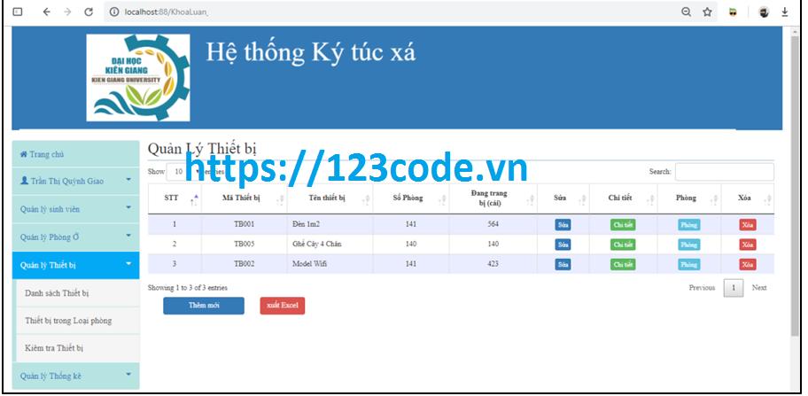 Source code đồ án tốt nghiệp quản lý ký túc xá php kèm báo cáo