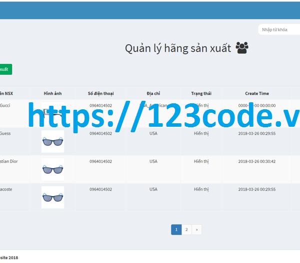 Source code tốt nghiệp website bán hàng php có database và báo cáo 3