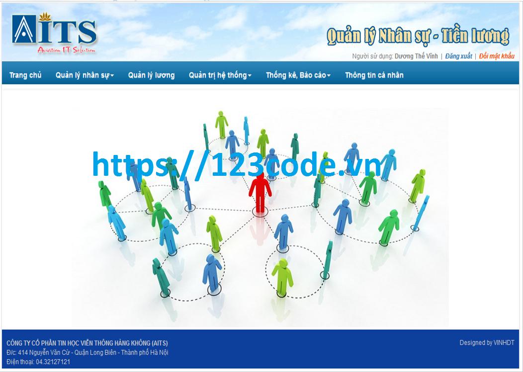 Tải đồ án tốt nghiệp quản lý nhân sự - tiền lương code ASP.NET có báo cáo