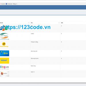 Tải miễn phí source code website giới thiệu sản phẩm dich vụ php CodeIgniter Framework