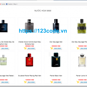 Share source code website bán hàng online php đầy đủ database