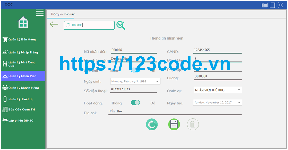 Source code kèm báo cáo shop quản lý bán hàng điện thoại c# full data