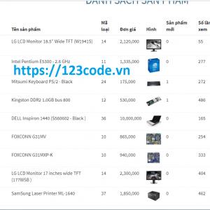 Share code website bán hàng máy tính php - mvc thuần chuẩn seo