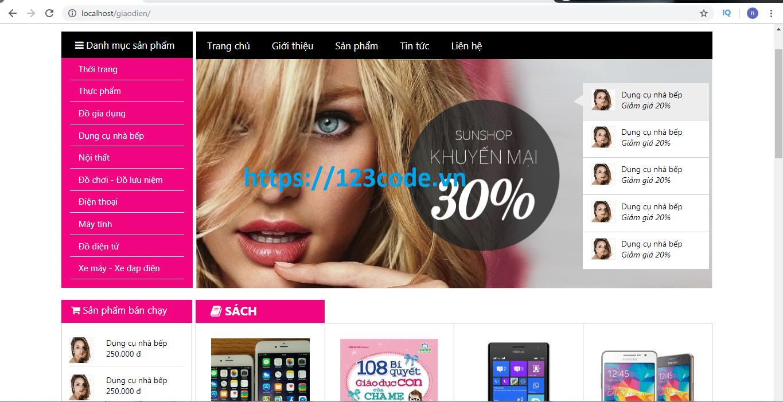 Share code website thương mại điện tử wordpress full code