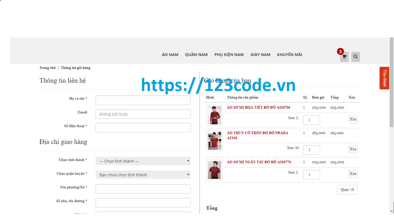 Source code web bán hàng online php thuần full code và báo cáo ( Đồ án tốt nghiệp)
