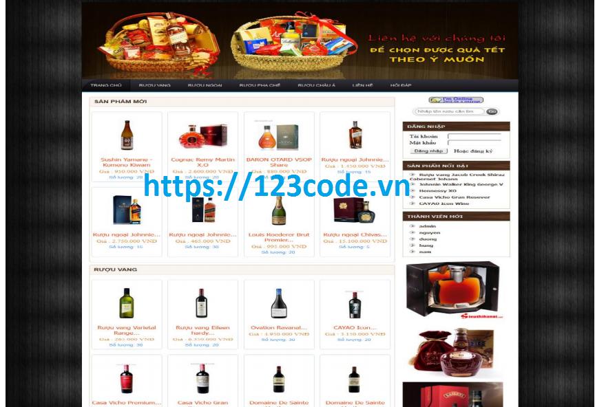 Source code website bán hàng php full data và báo cáo ( đồ án tốt nghiệp)