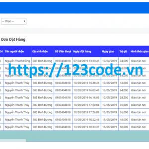Source code website bán hàng siêu thị asp.net full data và báo cáo ĐATN