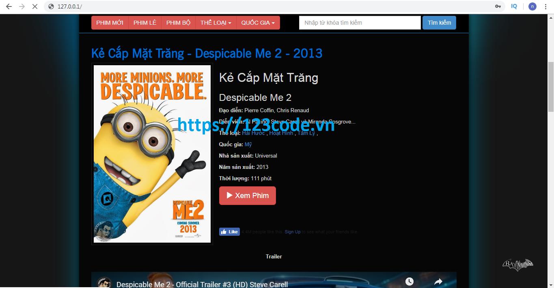 Source code website xem phim php download miễn phí