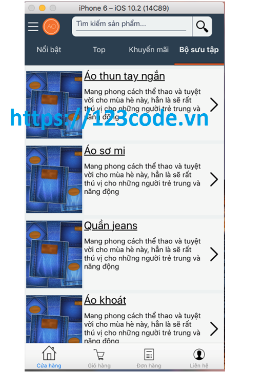 Đề tài ứng dụng mobile shop online Javascript với Công nghệ react naive 2