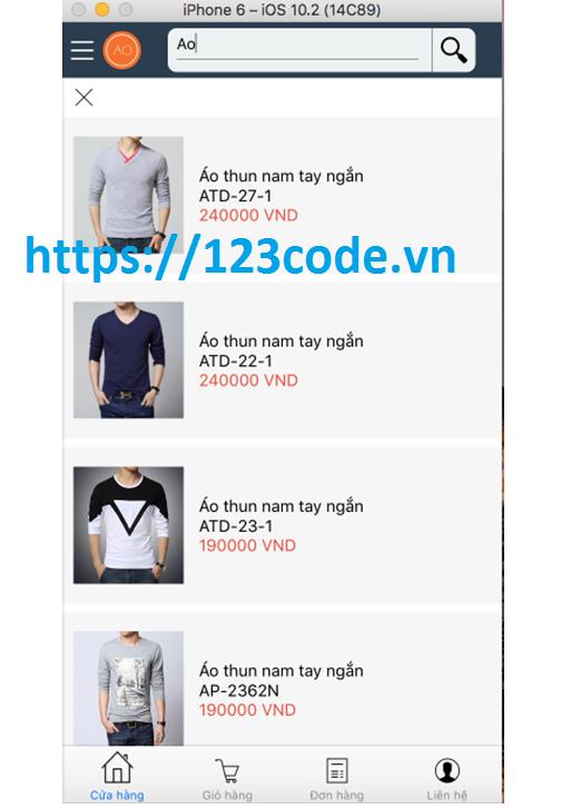 Đề tài ứng dụng mobile shop online Javascript với Công nghệ react naive 3