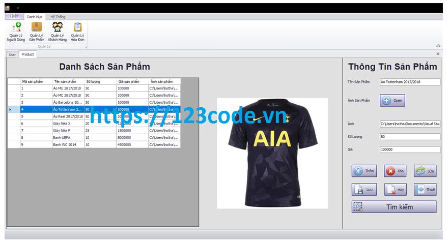 Đề tài quản lý bán hàng c# đầy đủ code và báo cáo