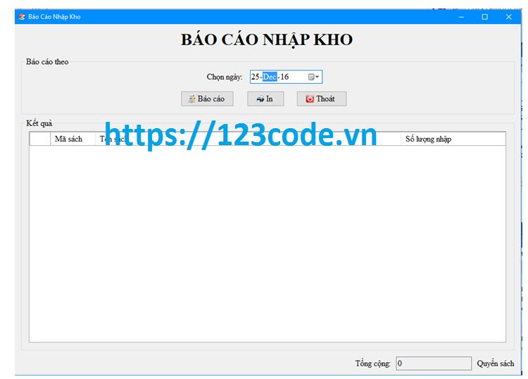Báo cáo và source code đề tài quản lý nhà sách c# database mysql