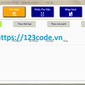 Chia sẻ báo cáo và code đề tài quản lý bán sách c# wpf 1