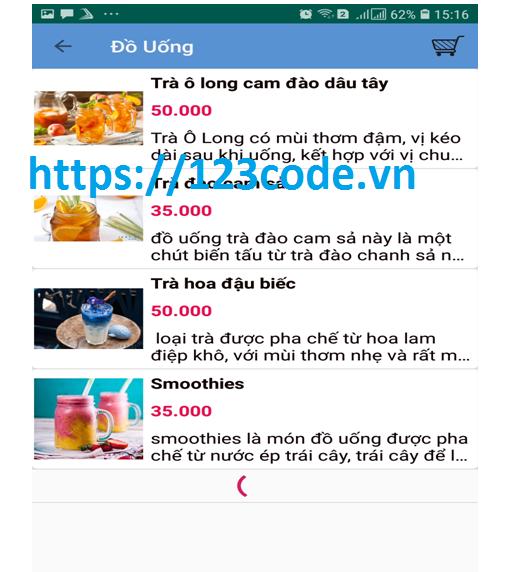 Chia sẻ source code app quản lý bán hàng java android có báo cáo
