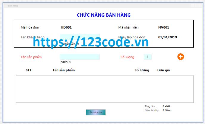 Chia sẻ source code quản lý bán hàng điện thoại c# wpf full data