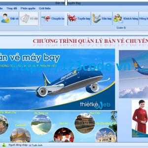 Source code đề tài bán vé chuyến bay c# full báo cáo