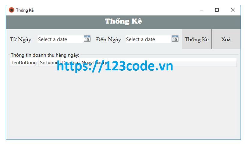 Source code phần mềm quản lý quán cafe c# wpf full báo cáo và data mysql