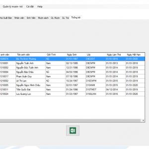 Chia sẻ đề tài quản lý thư viện trường đại học vb.net full code và báo cáo